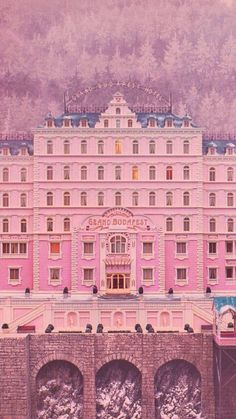 The Grand Budapest Hotel dir. Wes Anderson The Grand Budapest Hotel dir. Wes Anderson The post The Grand Budapest Hotel dir. Wes Anderson appeared first on Film. Beau Film, Grand Hotel Budapest, Hotel Budapest Movie, Isak & Even, Wes Anderson Movies, Wes Anderson Poster, Grande Hotel, Forrest Gump, Film Aesthetic