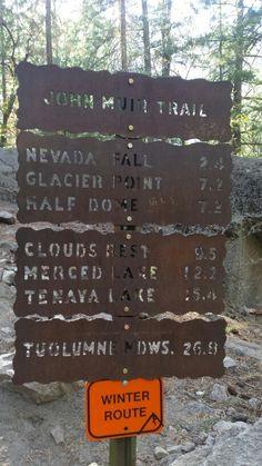Yosemite National Park, John Muir Trail