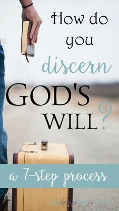 How can you know God's will when there are so many ways to go? This 7-step process will help you think through finding God's plan for your life through Scripture, prayer, and godly counsel. Discerning God's will is not a formula but more of a process.