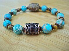 Men's Spiritual Protection Serenity Balance Bracelet