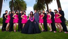 Quinceanera Court of Honor