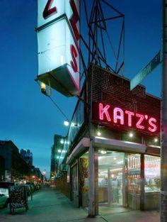 Favorite place for a hot dog.. David LEVENTI :: Katzs Delicatessen, 205 E Houston Street, NYC
