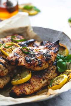 Grilled Honey Lemon