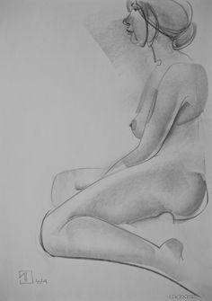 #рисунок #рисование #карандаш #графика #натура #графит #бумага #художник #figure drawing by Alexander Glazkov #scetch #drawing #sketches #nature #pencil #figurative #female nude