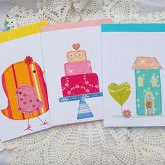 More fabric card ideas!