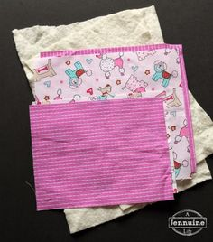 Tiny Sewists: Teaching Kids to Sew :: Lesson 8, Project 2 - A Jennuine Life