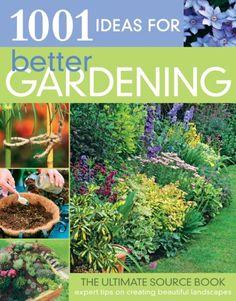 Book : 1001 Ideas for Better Gardening