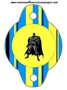 Imprimibles de Batman 4. | Ideas y material gratis para fiestas y celebraciones Oh My Fiesta!
