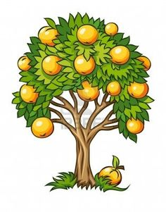 Fruit Tree Clipart - Clipart Suggest Tree Clipart, Flower Clipart, Free Vector Images, Vector Free, Vector Stock, Tomato Cages, Fruit Garden, Apple Tree, Fruit Trees