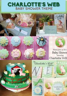 For A Beautiful Baby Girl On The Way! // 8 Adorable Baby Shower Themes Inspired By Children's Books