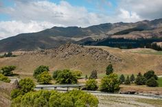 bridge over Awatere river, Awatere Valley