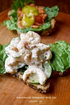 Swedish Shrimp Salad - just so simple, healthy and delicious!