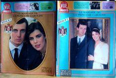 Lot de 2 revues POINT DE VUE - 1983 - MARIAGE Princesse Caroline de MONACO - fr.picclick.com