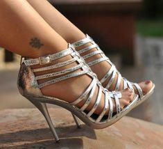 Photo of Sexy High Heels for fans of Women's Shoes. Woman in sexy high heels Strappy High Heels, Prom Heels, Black High Heels, Shoes Heels, Pumps, Sexy Heels, Gladiator Heels, Pantyhose Heels, Stockings Heels
