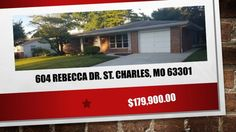 "St. Charles 3 Bedroom 2 Bathroom home 63301  https://gp1pro.com/USA/MO/St__Charles/Saint_Charles/604_Rebecca_Dr_.html  St. Charles 3 Bedroom 2 Bathroom home 63301 - Call ""NORM"" 314-713-4256 - COMPLETELY RENOVATED RANCH! Located on quiet street in Saint Charles, this home features 3 bedrooms, 2 full baths. A brand new kitchen with new soft closing cabinets, and beautiful granite counter tops. Crown molding in both kitchen and living room, with new tiled flooring and refinished hardwood…"