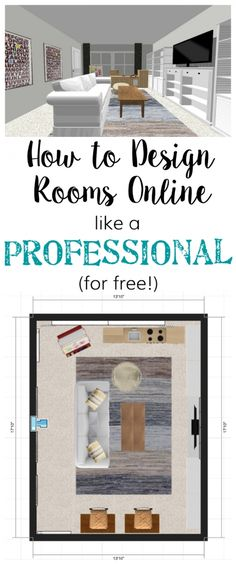 10 Best Free Online Virtual Room Programs and Tools | new house | Pinterest | Programming Room and Room layout planner