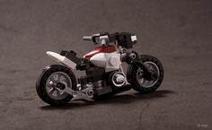 Lego Motorbike | The sports version of this one. The rear fe… | Flickr