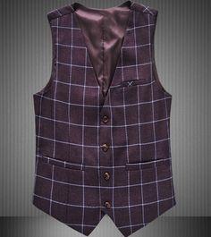 Barato Outono xadrez coletes homens colete coletes grade paletó 3XL 4XL 5XL 6XL 5Z, Compro Qualidade Coletes diretamente de fornecedores da China:   Nota abaixo Este link só vende o colete!!!!!!!!!!!!!!!!!  Nós temos o terno e calças no modelo, também!  Se você