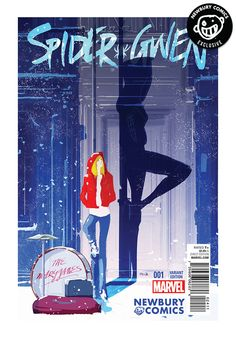A Newbury Comics exclusive variant cover comic. (W) Jason Latour (A) Robbi Rodriguez (CA) Pascal Campion SPIDER-GWEN SPINS INTO HER OWN SERIES! BECAUSE YOU DEMANDED IT! The breakout hit of the biggest