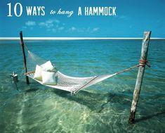 Cinnamon Beach at Ocean Hammock Beach Resort. Hammock Beach, Water Hammock, Outdoor Hammock, Backyard Hammock, Outdoor Rooms, Beach Swing, Hammock Ideas, Hammock Swing, Nice Backyard