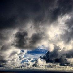 Clouds over Atlantic Ocean, Brazil