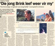 Flame in the Snow article in Die Burger