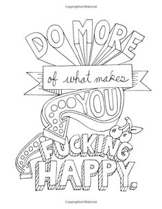 fuck yeah word doodle coloring pages printable and coloring book to print for free find more coloring pages online for kids and adults of fuck yeah word - Make Coloring Pages