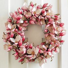 Japanese Magnolia Wreath