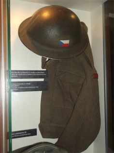 Uniform worn by the Czechoslovak Army in Great Britain