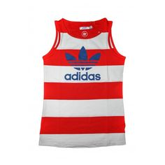 Adidas  Womens Originals Vest Top Gym Clothing, Clothes, Gym Vests, Adidas Women, Athletic Tank Tops, Range, The Originals, Lady, Fashion