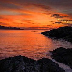 Sunset at the Beara peninsula