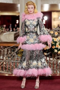 Liu Chunjie for Dolce & Gabbana Spring 2018 Alta Moda