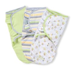 Amazon.com : Summer Infant SwaddleMe Adjustable Infant Wrap, Busy Bees, 3 Count : Nursery Swaddling Blankets : Baby