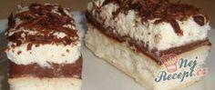 Kokosové řezy z listového těsta Czech Recipes, Ethnic Recipes, Tiramisu, Nutella, Food And Drink, Baking, Desserts, Ds, Hampers