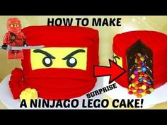 Lloyd CAKE from Lego NINJAGO! - YouTube Lego Ninjago Cake, Lego Ninjago Lloyd, Ninjago Party, Superhero Cake, Ninjago Cole, Ninjago Kai, Ninjago Memes, Ninja Birthday Cake, Ninja Cake