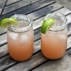 Grapefruit and Habanero Margarita. Cool cocktail with a spicy kick!