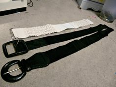 If You Give a Girl a Needle: How To Resize Your (elastic) Belts! (Temporarily O...