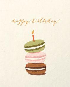 Macaron Birthday