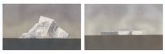 John Kelly 'First Berg' and 'Table Top Berg', 2014, Edition of 40