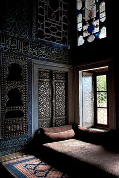 via heavywait - modern design architecture interior design home decor & Moroccan Design, Moroccan Decor, Moroccan Style, Moroccan Bedroom, Moroccan Lanterns, Moroccan Interiors, Black Interiors, Islamic Architecture, Interior Architecture