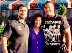 Dwayne Johnson Family, The Rock Dwayne Johnson, Rock Johnson, Dwayne The Rock, Rock Family, Celebrity Portraits, African American History, Wwe Superstars, History Facts