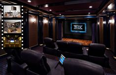Os home theather são divisões da casa decoradas como salas de cinemas, quem não gostaria de assistir um filme com magnitude de um cinema mas com todo o con