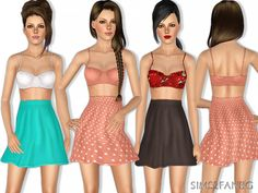 402 - Summer outfit by sims2fanbg - Sims 3 Downloads CC Caboodle