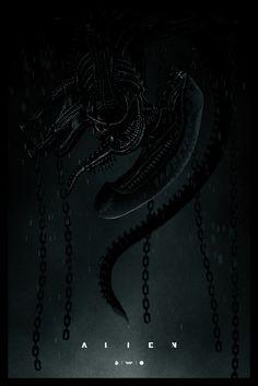 Alien poster by Marko Manev