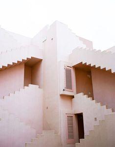 aztec, structure, architecture, building, blush