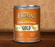 PRODUCT WARNING!:Fromm Family Pet Food Recalls Select Cans of Dog Food Pates | petMD