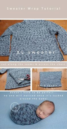 DIY Knit Wrap (no knitting involved!) » The Milky Way