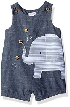 Mud Pie Baby Boys' Shortall One Piece, Elephant Chambray,... https://www.amazon.com/dp/B01M4OBC5Q/ref=cm_sw_r_pi_dp_x_TZy7ybV9ZG5FQ