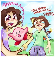 Game Grumps - Kirby's Epic--AAAWWW SO CUTE by MimiMarieT on DeviantArt