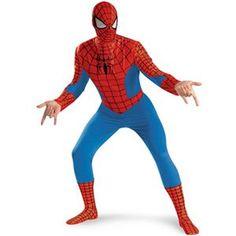 【コスプレ】 disguise Classic Spiderman / Spiderman Deluxe Adult 42-46 スパイダーマン - 拡大画像